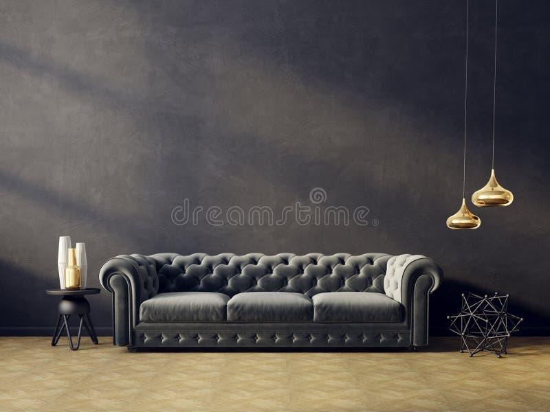 interior ilustração stock