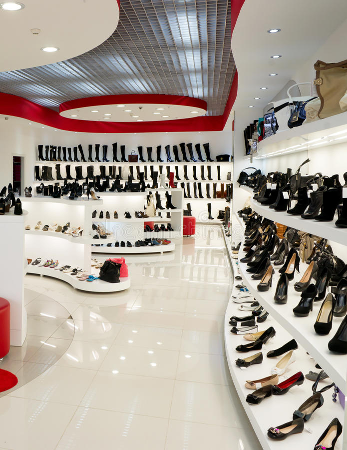 Download Interior Of Shoe Shop Stock Photo. Image Of Equipment   23606590