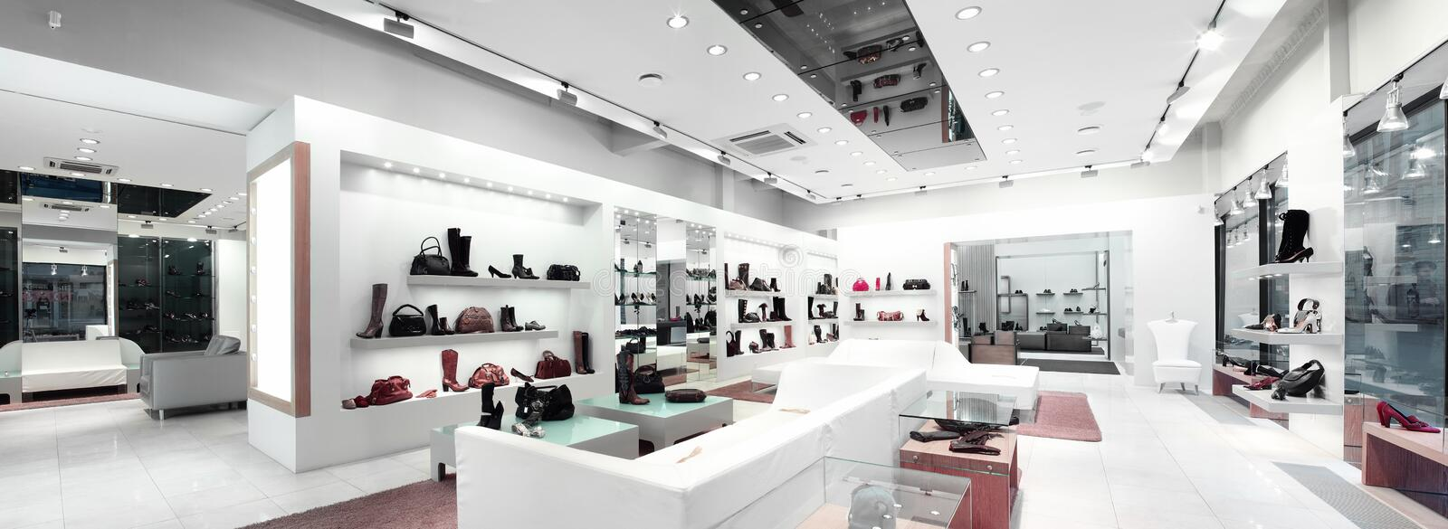 interior of a shop stock images