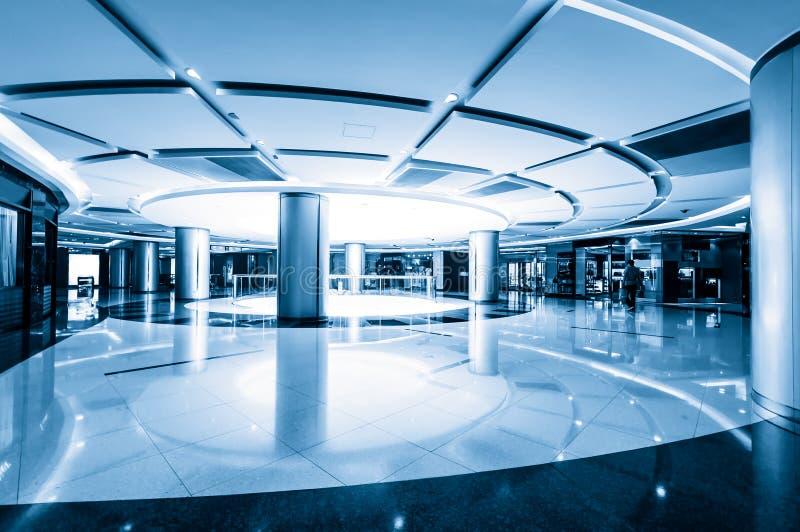 Interior - shopping hall royalty free stock image