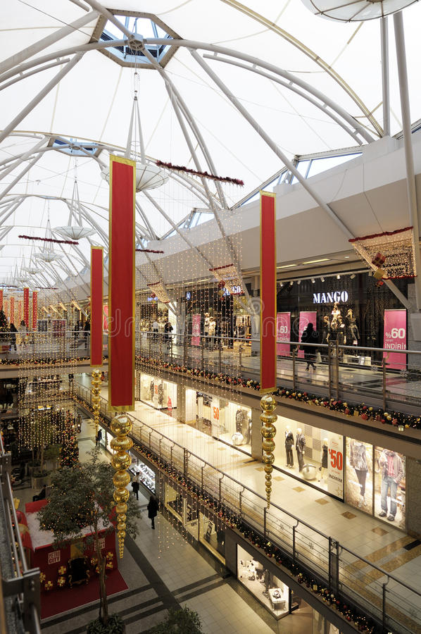 Download Interior Of A Shopping Mall Editorial Stock Photo - Image: 22574438