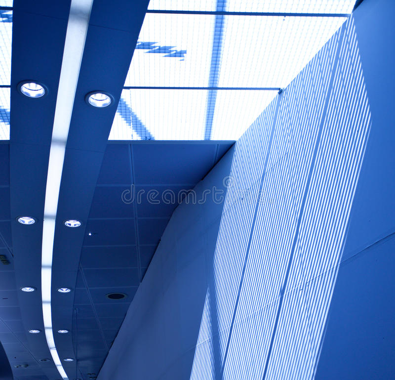 Download Interior With Skylight Stock Image - Image: 32665081