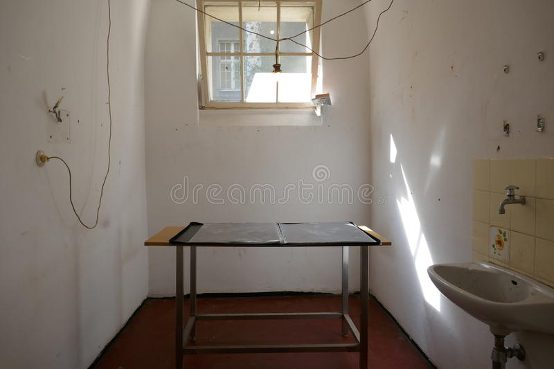 Interior of a small cramped room royalty free stock image