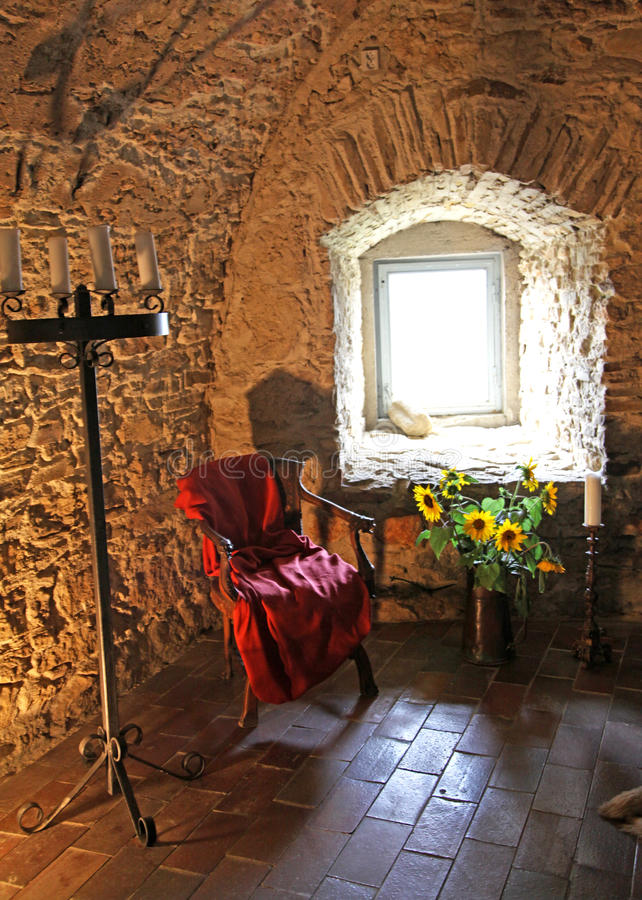 Download Interior Of Spis Castle, Slovakia Stock Image - Image: 33334923