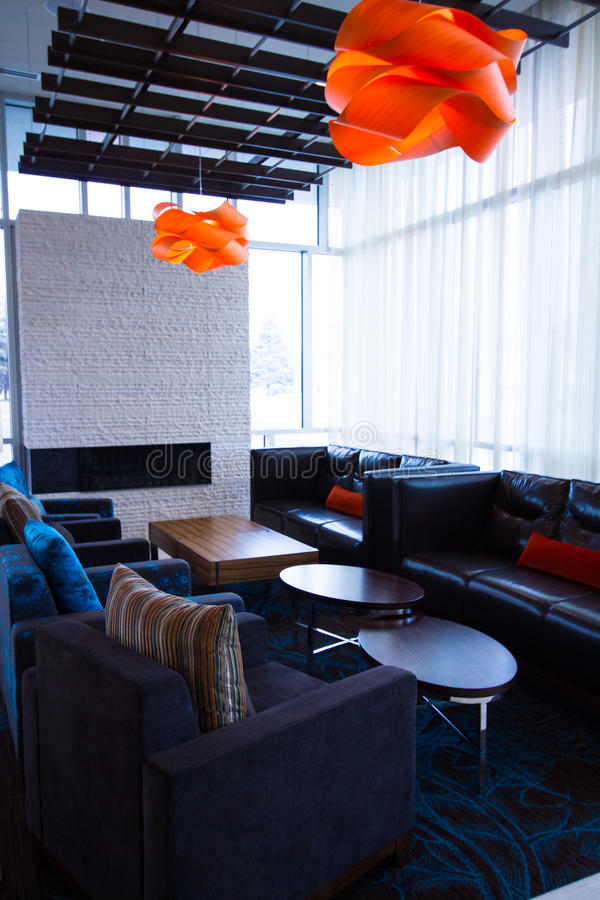 Interior. Of the SpringHill Suites Denver Downtown royalty free stock image