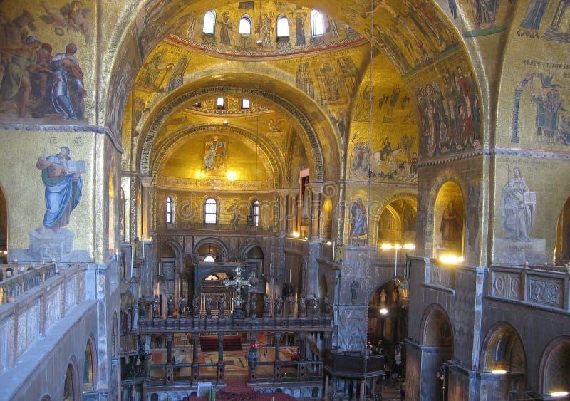 Interior Of St Mark S Basilica Royalty Free Stock Image