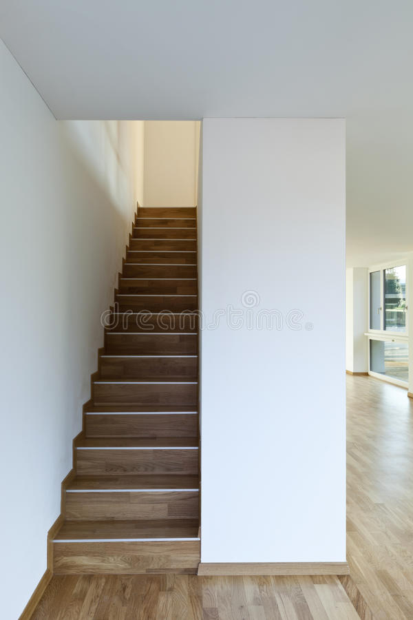 Interior, staircase stock images