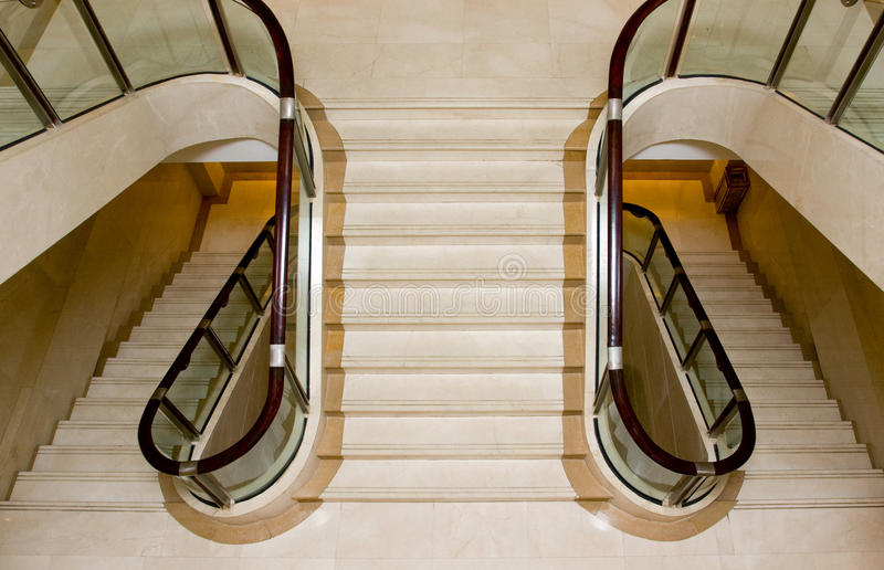 Download Interior stairs stock photo. Image of closed, gold, abstract - 14853874