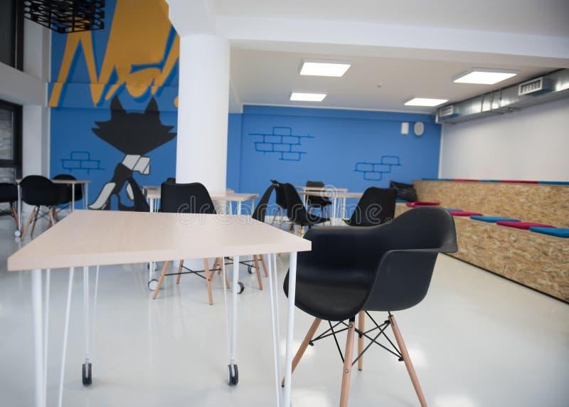 Interior Startup do escritório para negócios fotos de stock