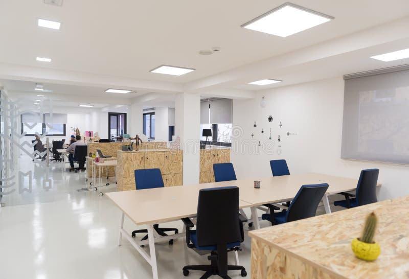 Interior startup vazio do escritório para negócios foto de stock royalty free