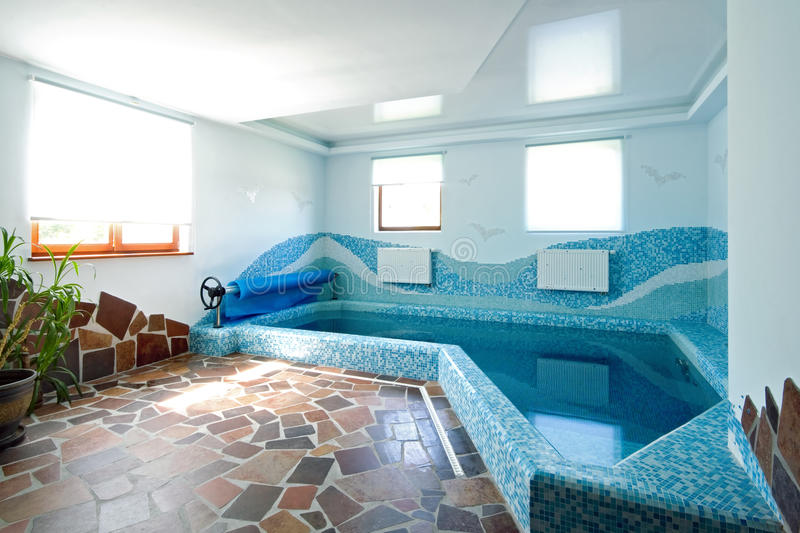 Download Interior Of A Swimming Pool Stock Image - Image: 12334271