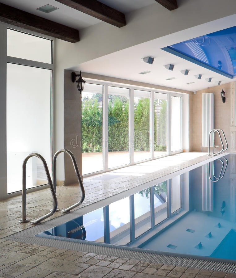 Download Interior Of A Swimming Pool Stock Image - Image: 12397345