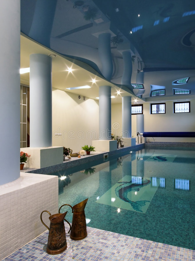 Download Interior Of A Swimming Pool Stock Photo - Image: 6649272