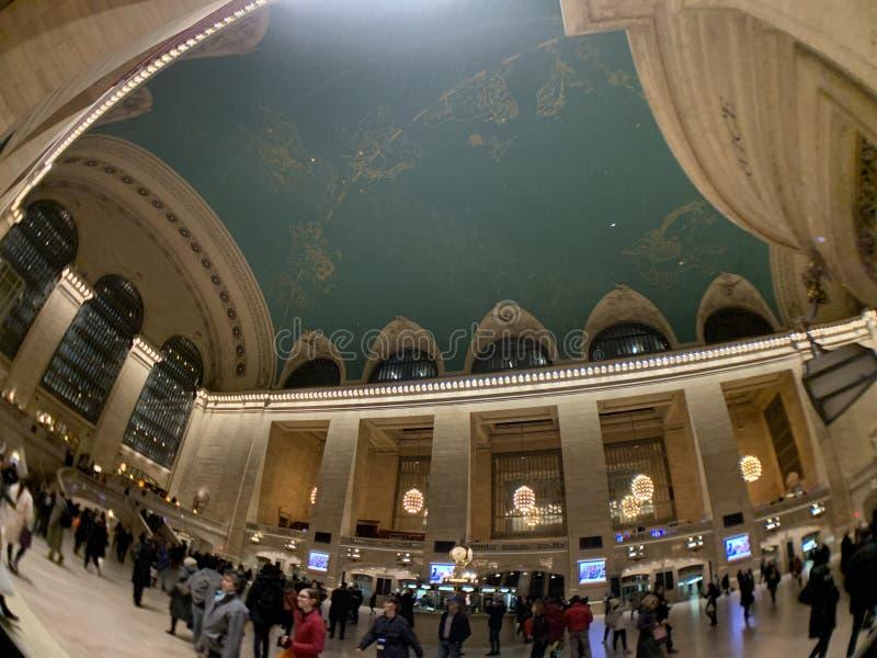 Interior terminal de Grand Central fotografia de stock