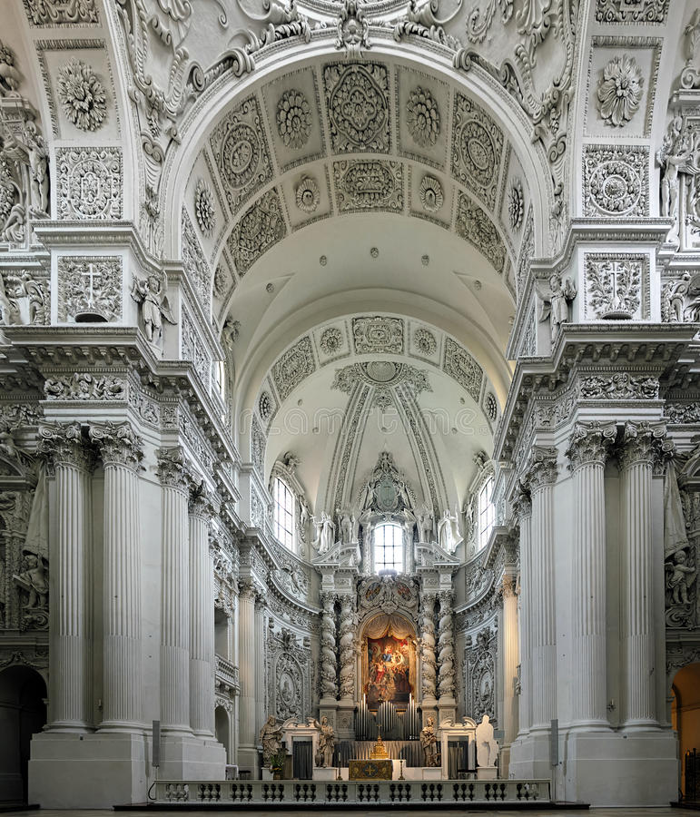 Download Interior Of The Theatine Church In Munich, Germany Stock Photo - Image: 26786584