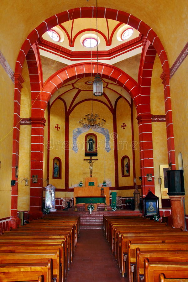 Interior Of The Tilaco Mission Royalty Free Stock Photography