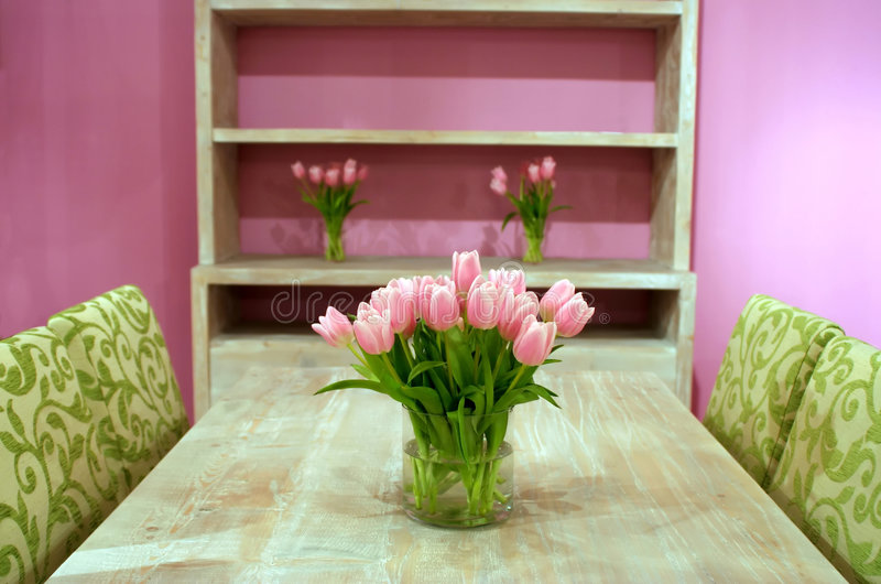 interior tulips στοκ φωτογραφίες με δικαίωμα ελεύθερης χρήσης