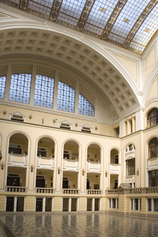 Interior of University royalty free stock images
