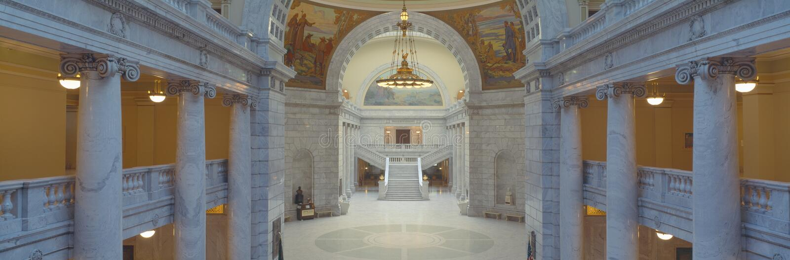 Interior Of Utah State Capitol Royalty Free Stock Photo
