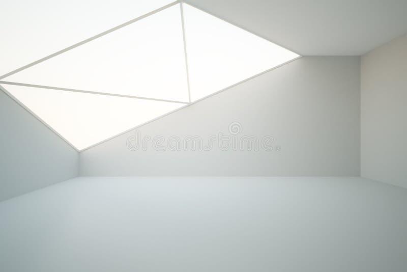 Interior vacío abstracto ilustración del vector