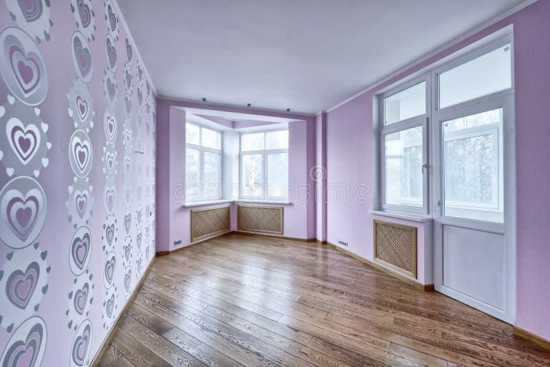 interior vacío en casa moderna foto de archivo libre de regalías