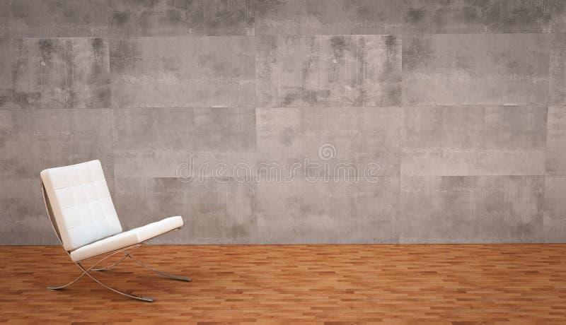 Interior vazio ilustração do vetor