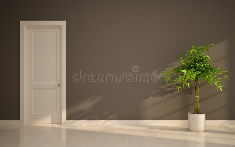 Interior vazio ilustração stock