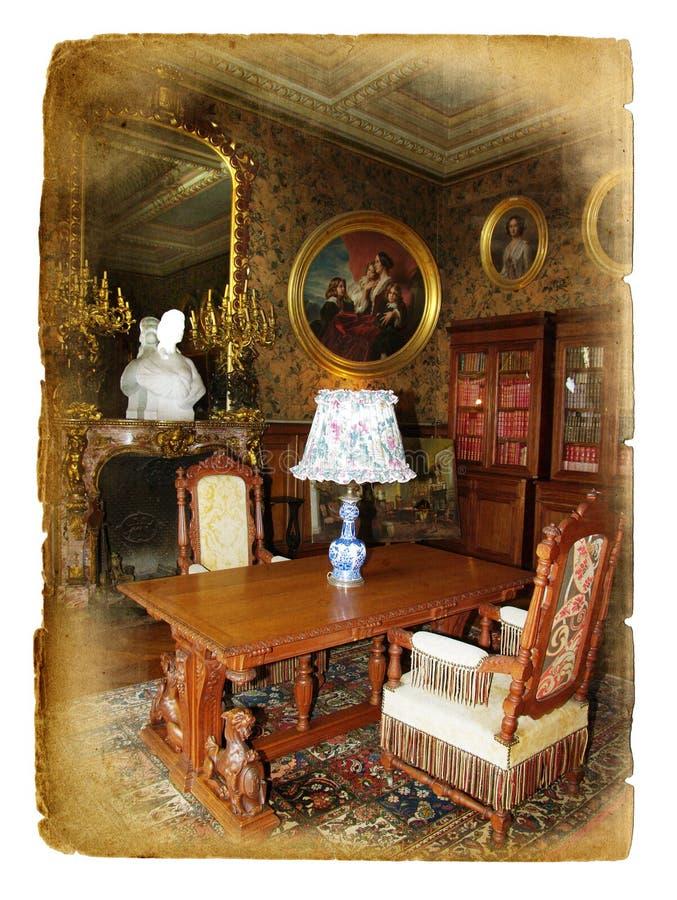 Interior velho imagens de stock royalty free