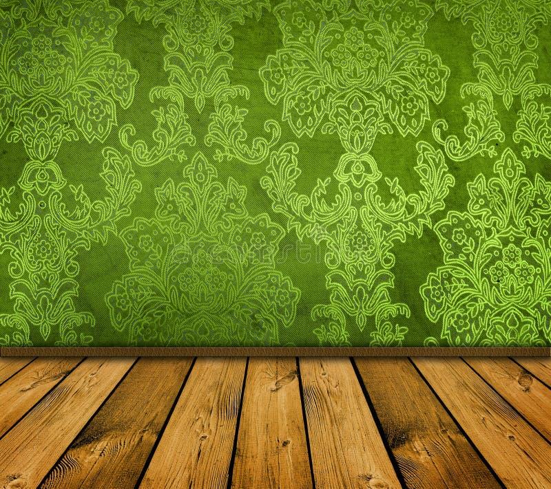 Interior verde foto de stock royalty free