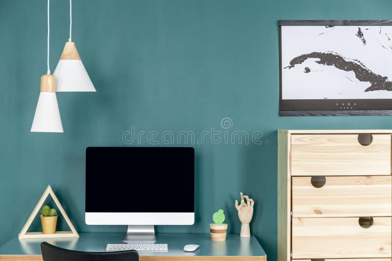Interior verde de Ministerio del Interior imágenes de archivo libres de regalías