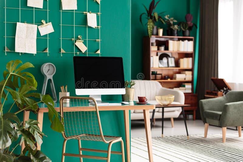 Interior verde de Ministerio del Interior fotos de archivo libres de regalías