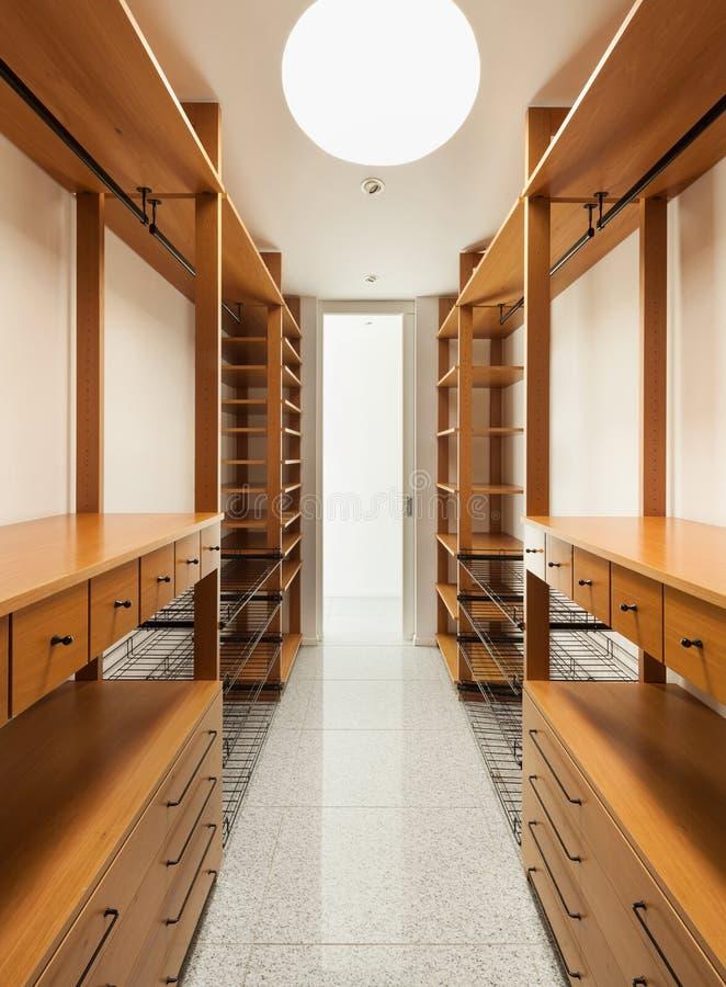 Interior, vestuario imagen de archivo libre de regalías