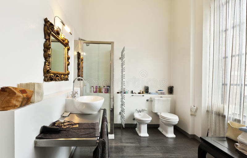 Download Interior, View Of The Bathroom Stock Image - Image: 27972515