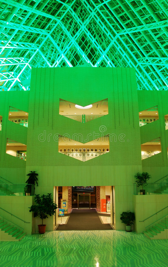 Download Interior View Of Edmonton City Hall Stock Image - Image of bright, arts: 7418525
