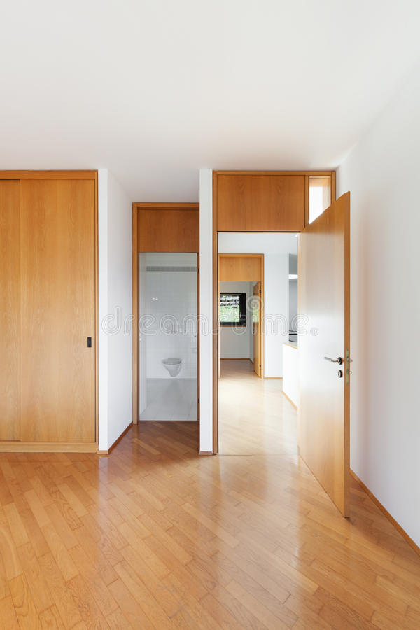 Interior, view of empty room royalty free stock images