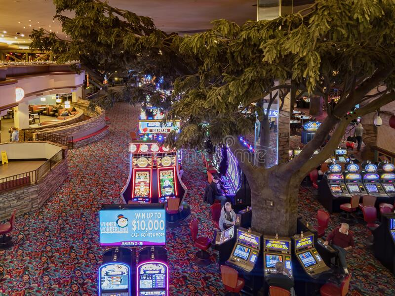 Interior View Of The Famous Fiesta Henderson Hotel Casino