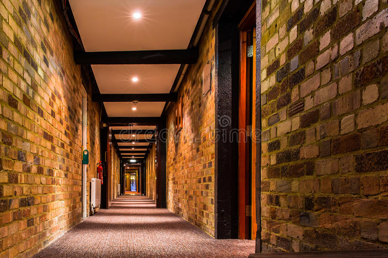 Interior View of Hotel COPTHORNE LONDON GATWICK. GATWICK , LONDON, UNITED KINGDOM royalty free stock images