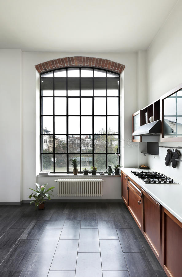 Download Interior, View Of The Kitchen Stock Image - Image: 27972923