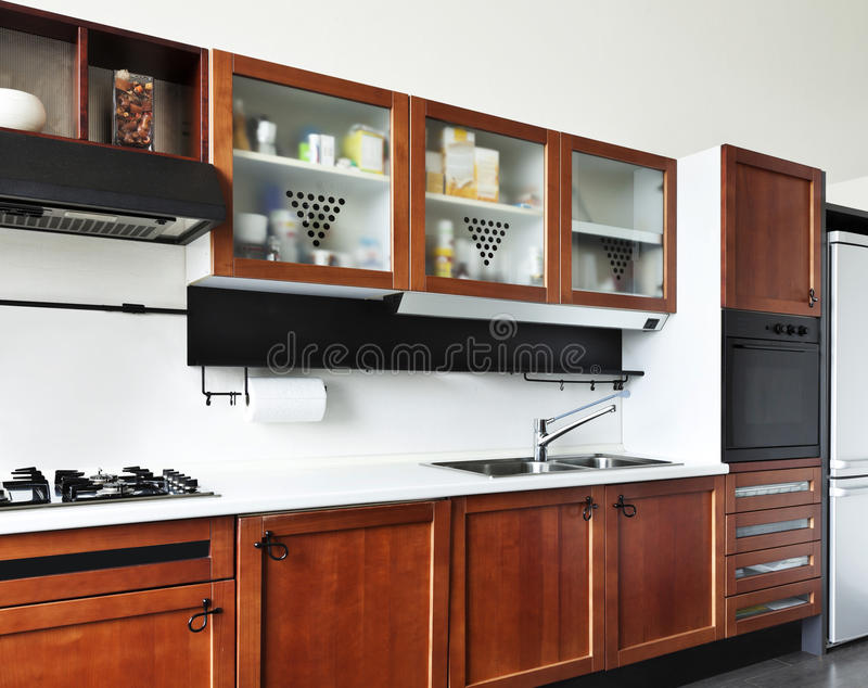 Download Interior, View Of The Kitchen Stock Image - Image: 27972987