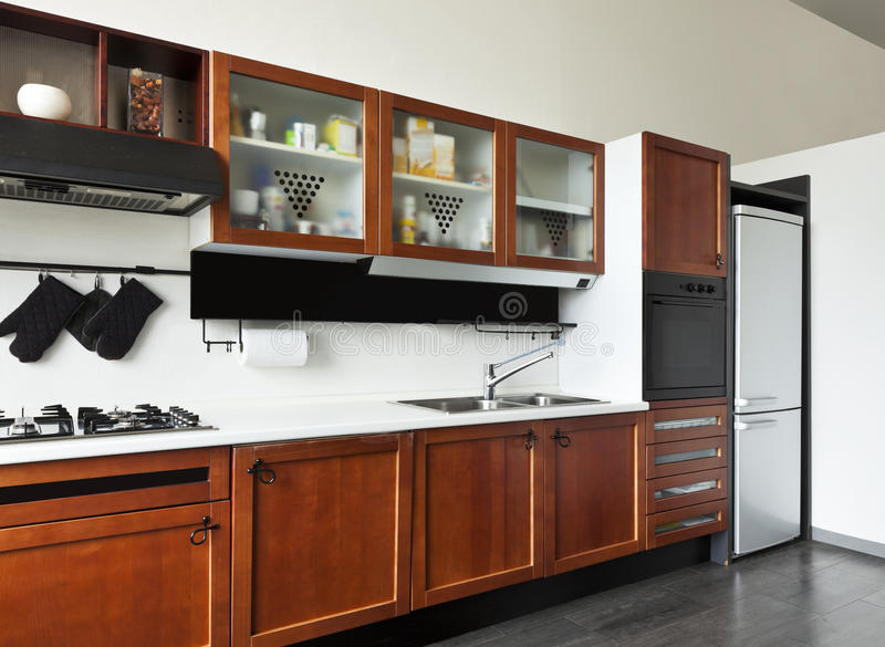Download Interior, View Of The Kitchen Stock Photo - Image: 27973010