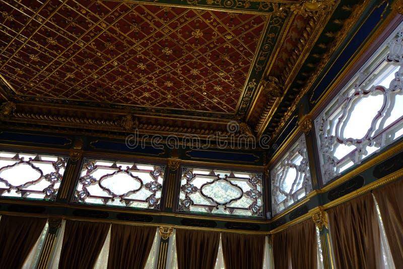 Interior view of a Topkapi Palace. Istanbul, Turkey. Tourism, landmark stock photos