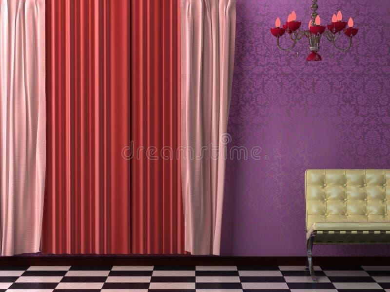 Interior Visualization royalty free stock image