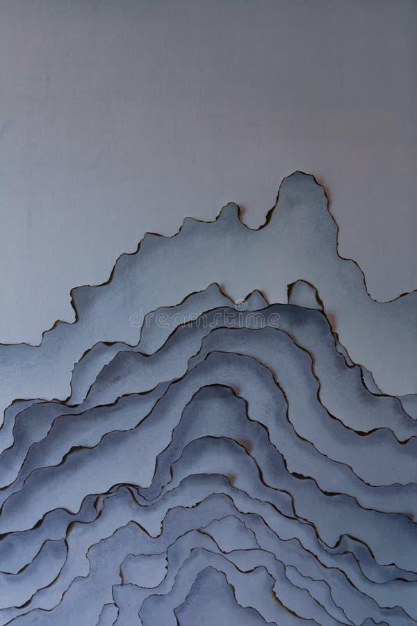 Interior wall decoration artistic conception stock image