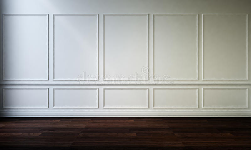 Interior wall and floor royalty free stock photo