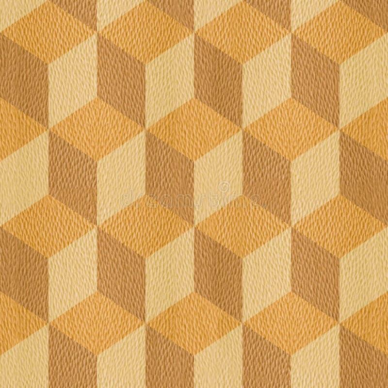Interior Wall Panel Pattern, Decorative Cube, Seamless Background ...