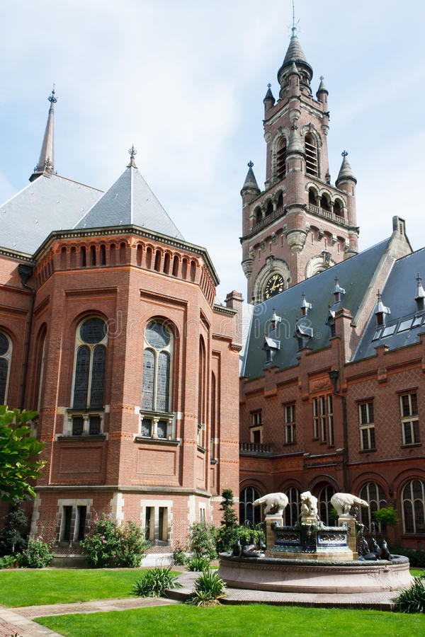 Download Interior Yard Of The Peace Palace Stock Image - Image: 20766523