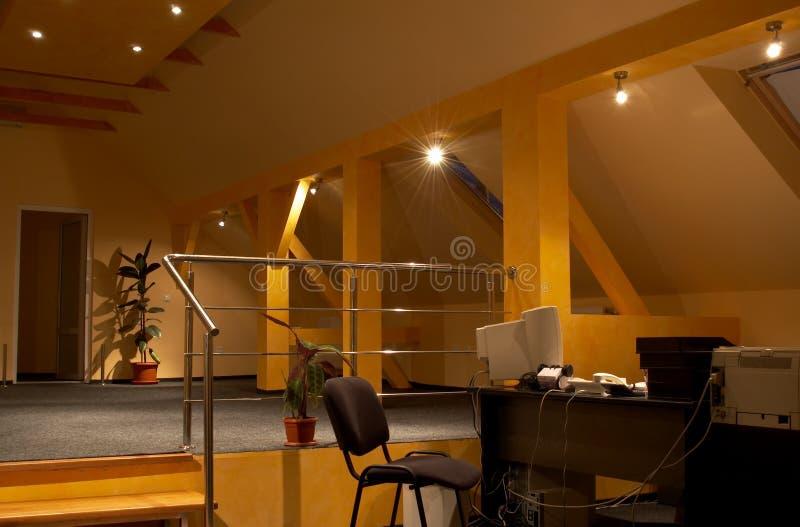 Interiore 2 dell'ufficio fotografia stock libera da diritti