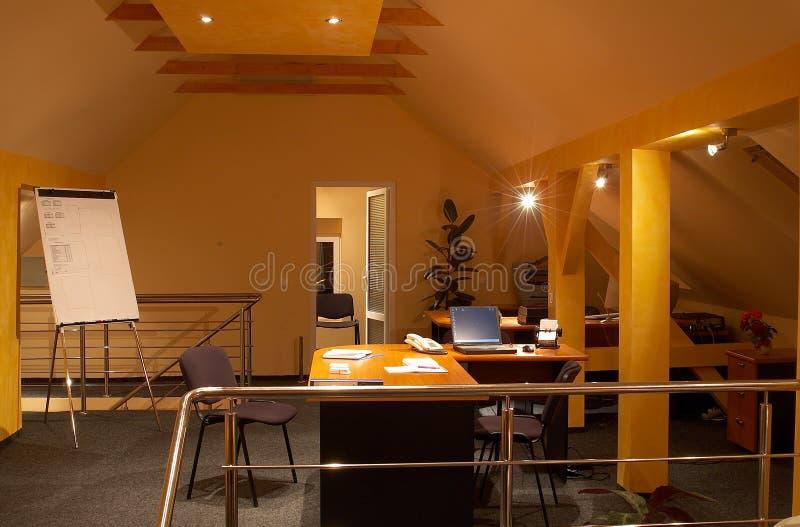 Interiore 3 dell'ufficio fotografia stock libera da diritti