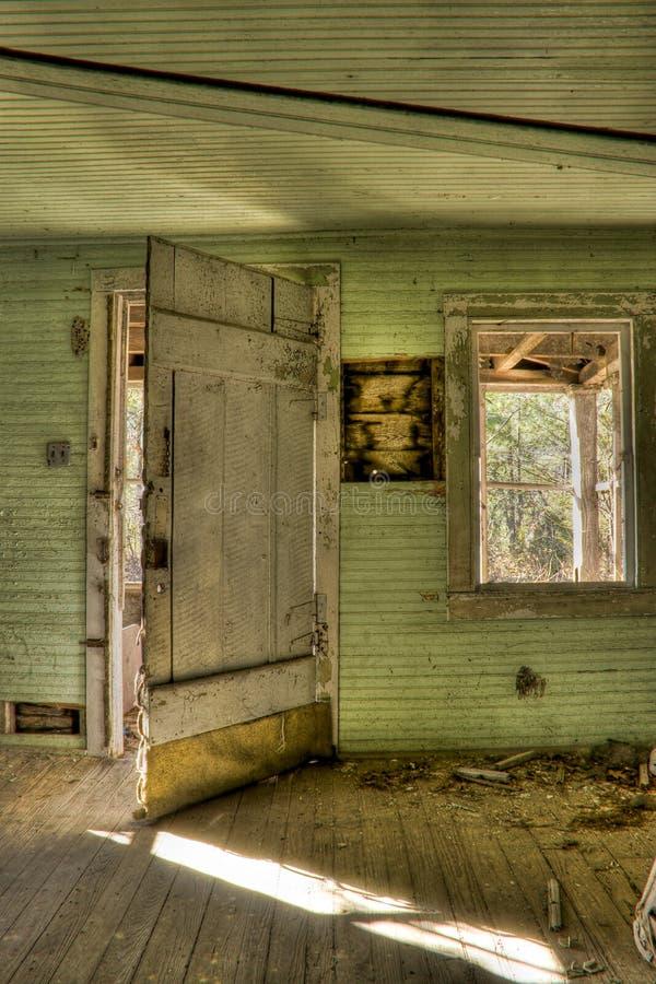 interiore abbandonato immagine stock libera da diritti