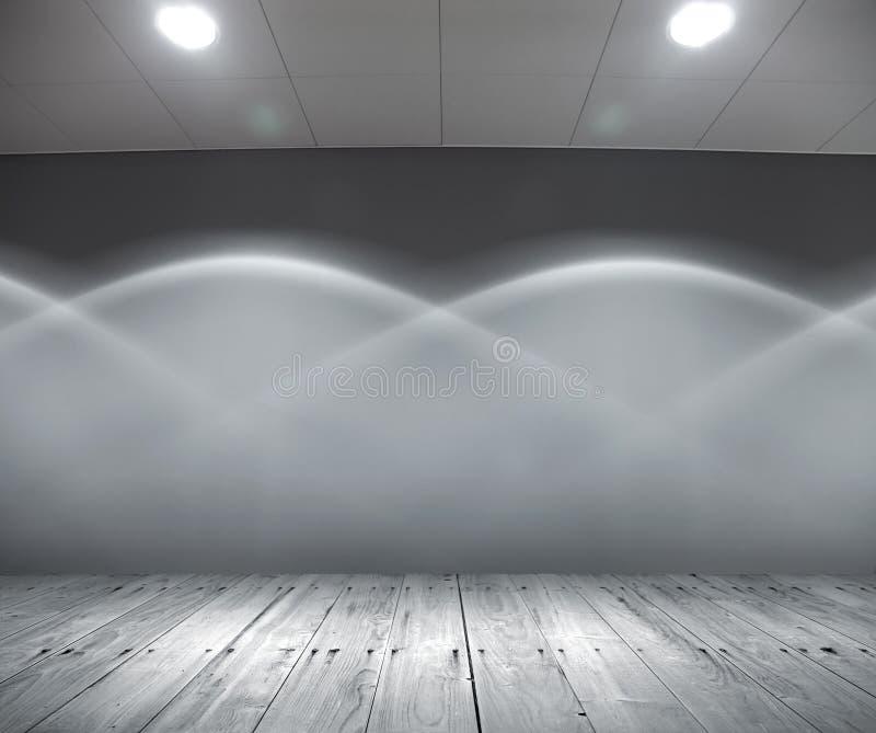 Interiore chiaro astratto fotografia stock libera da diritti